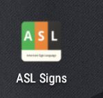 the asl program with the match game that i used to learn finger sign in 6 hours..JPG