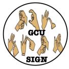 GCU Sign
